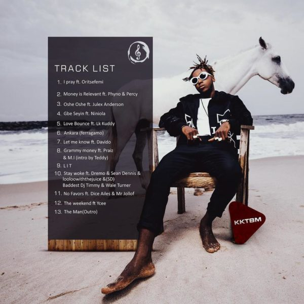 "Yung6ix unveils Tracklist for Forthcoming Album ""High Star"" - BellaNaija"