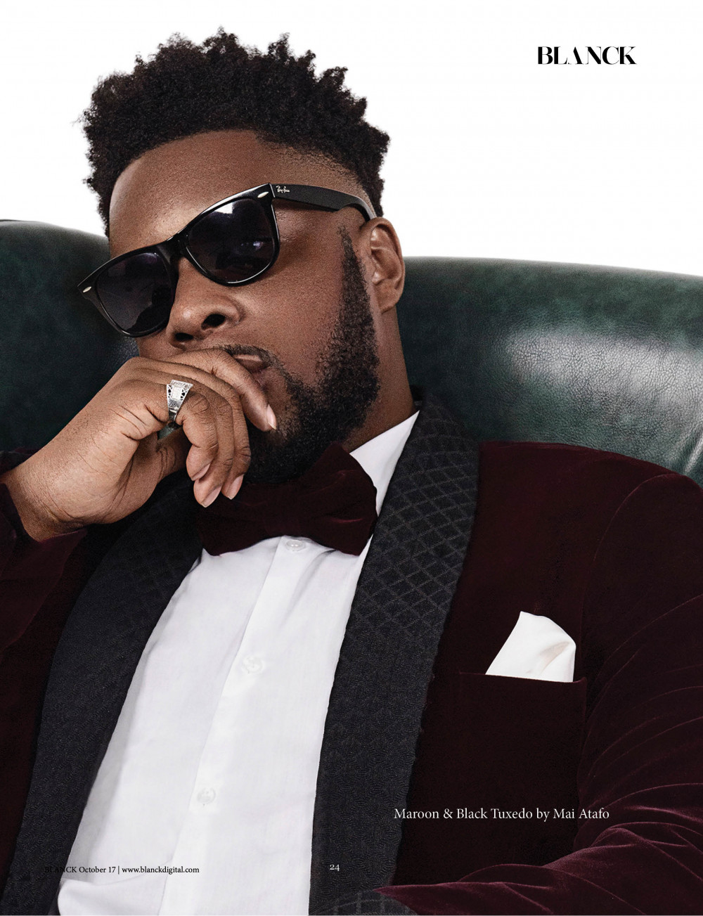 creating An Entirely New Music Genre! Maleek Berry covers Blanck Magazine's Latest Issue