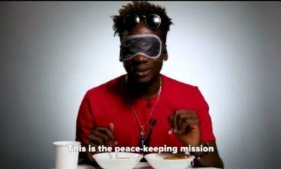BellaNaija - Mr Eazi is on a Peacekeeping Mission! Watch him decide which Jollof he likes best ?? vs ??