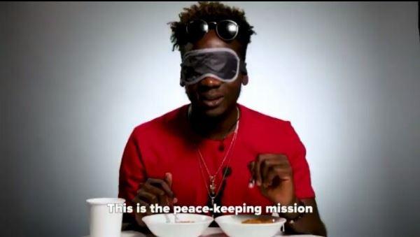 BellaNaija - Mr Eazi is on a Peacekeeping Mission! Watch him decide which Jollof he likes best 🇳🇬 vs 🇬🇭