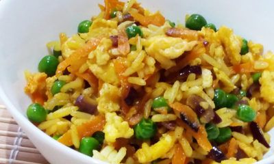 Mummy's Yum: A Simple Egg Fried Rice Recipe for your Toddler