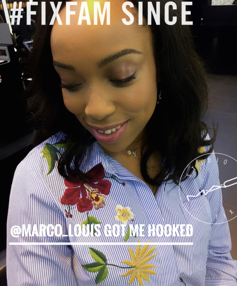 BN Style's Eki Ogunbor is Certified MAC #FixFam! Read all about her Makeup Session with Marco Louis