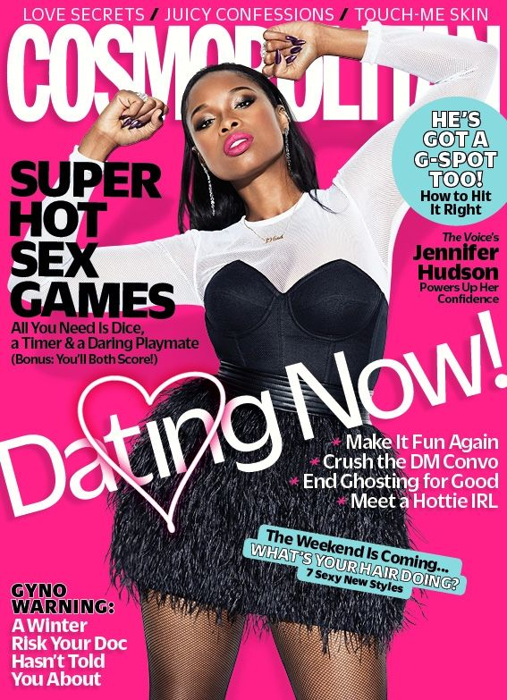 Jennifer Hudson is Fierce as she covers Cosmopolitan Magazine