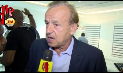 I don't have any plan to replace Mikel as captain of Super Eagles - Gernot Rohr | WATCH