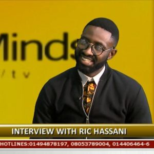 I used to be a rapper - Ric Hassani speaks on Music & Relationships on Rubbin' Minds | WATCH