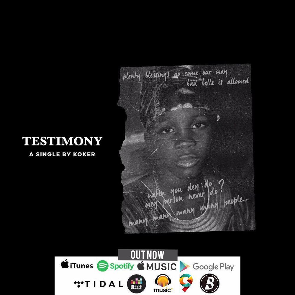 "Koker is ending the Year with a ""Testimony"" 