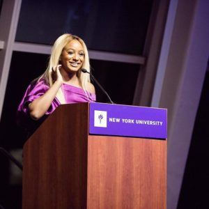 Shining Star!🌟 DJ Cuppy bags Artist Achievement Award from Alma Mater NYU
