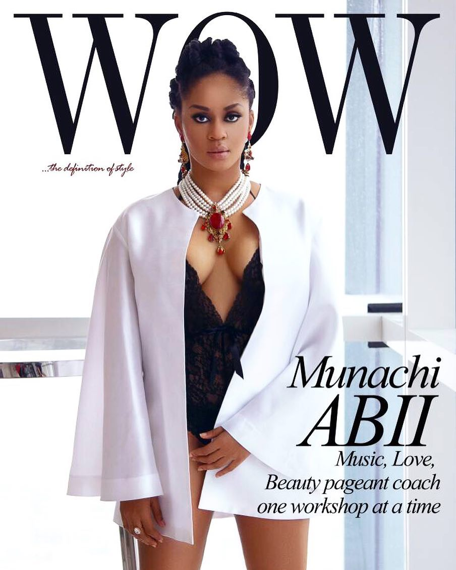 Music, Love & Coaching! Munachi Abii covers WOW Magazine