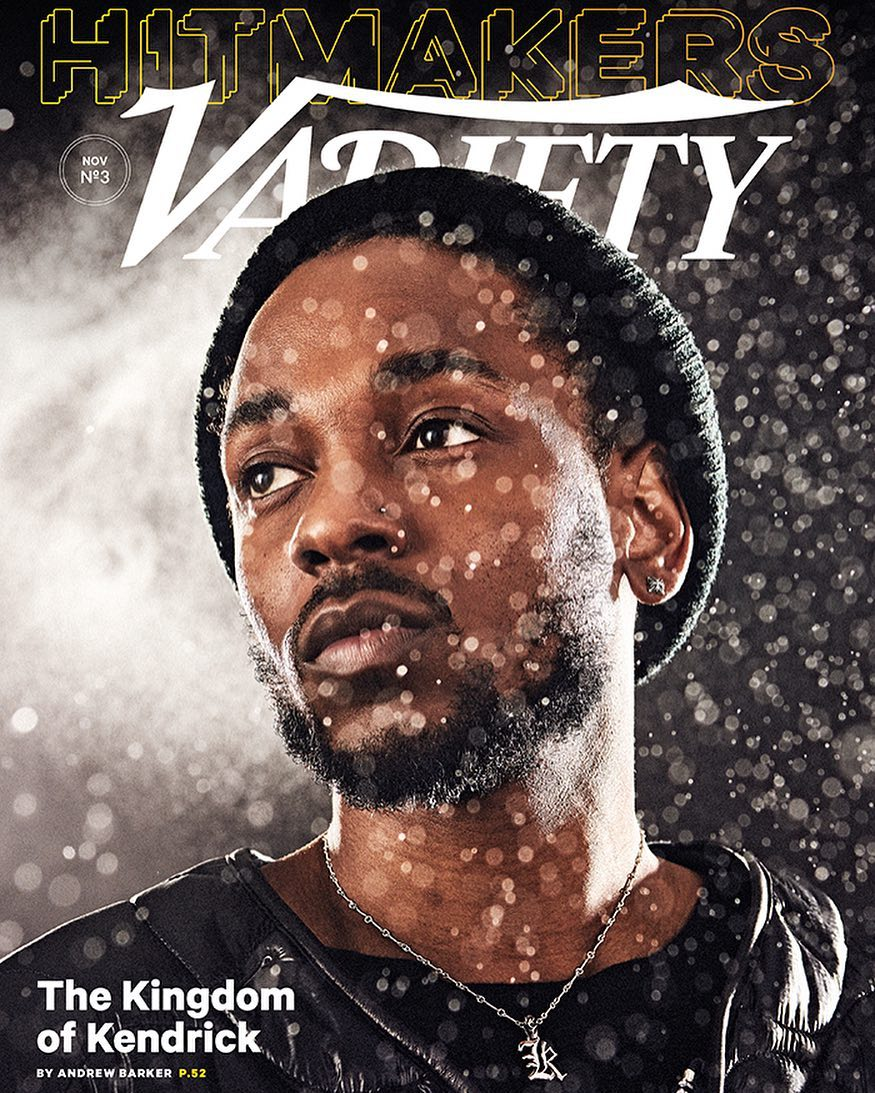 The Kingdom of Kendrick: Rap Star covers Latest Issue of Variety Magazine