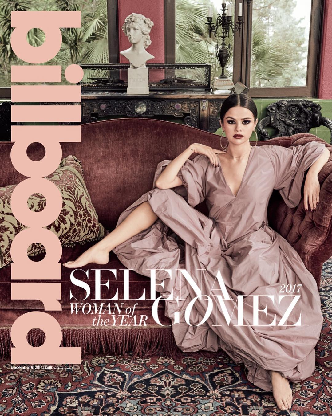 "Selena Gomez opens up on Kidney Transplant, Justin Bieber as she covers Billboard's ""Woman of the Year"" Issue"