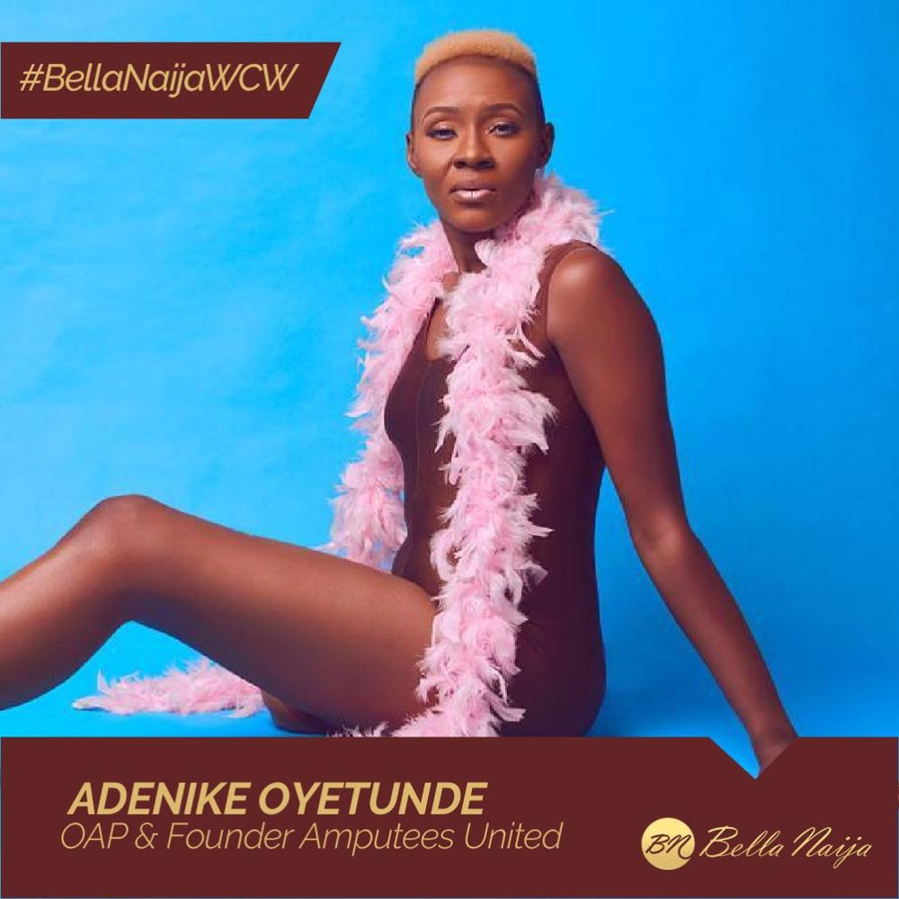 #BellaNaijaWCW: Cancer Survivor, Amputee & Activist! Adenike Oyetunde is Inspiring People to Live their Best Lives