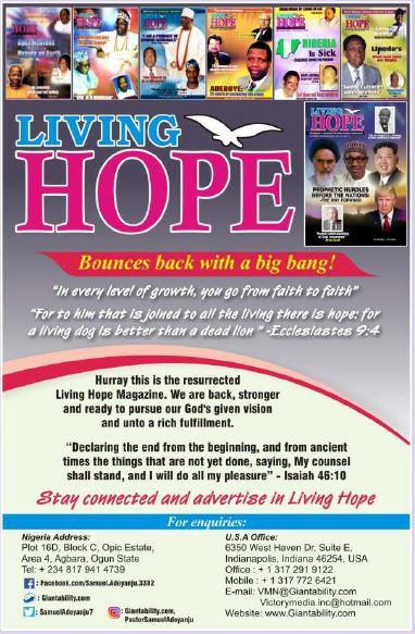Livinghope Magazine