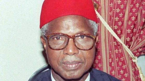 Former Vice President, Alex Ekwueme, is dead. - BellaNaija