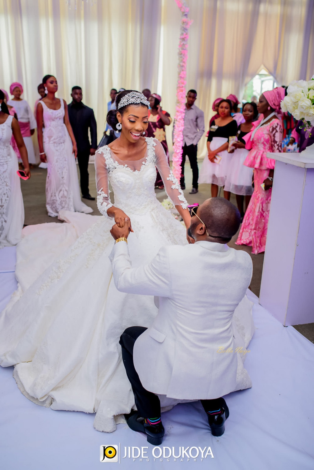 Bellanaija Weddings Presents Anita Amp Olayemi S Vibrant