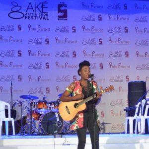 Aramide at the Ake Music Concert