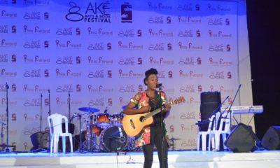 Aramide at the Ake Music Concert