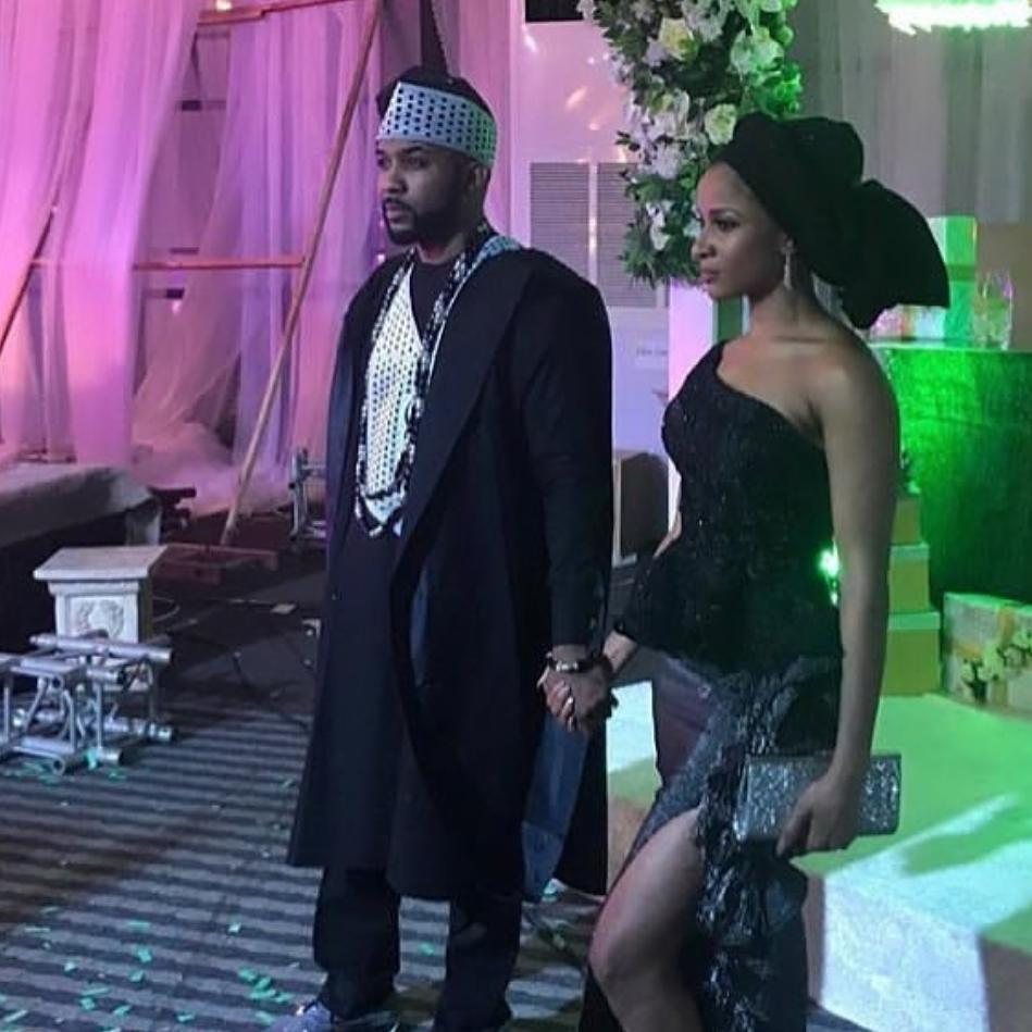 photos of banky w  adesua etomi u2019s traditional wedding as they tie the knot in lagos