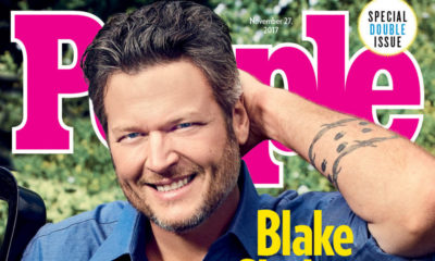 Country Singer Blake Shelton named People Magazine's Sexiest Man Alive - BellaNaija