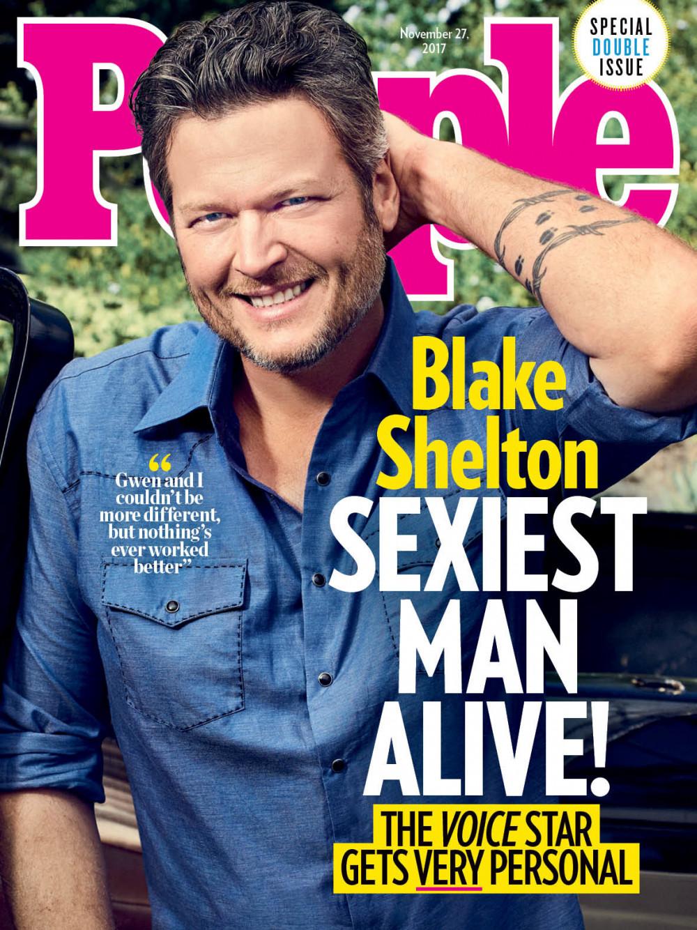 Country Singer Blake Shelton named People Magazine's Sexiest Man Alive - BellaNaija