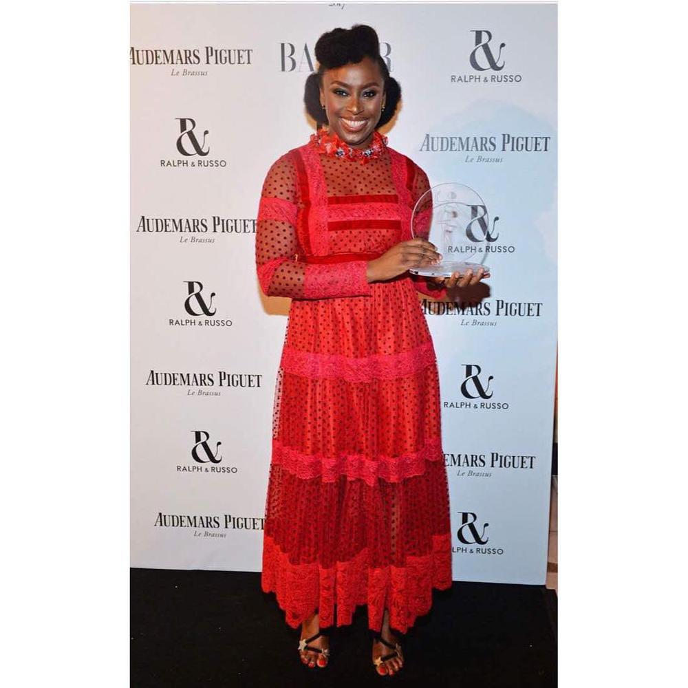 BN Collection to Closet: Chimamanda Ngozi Adichie in Moofa - BellaNaija