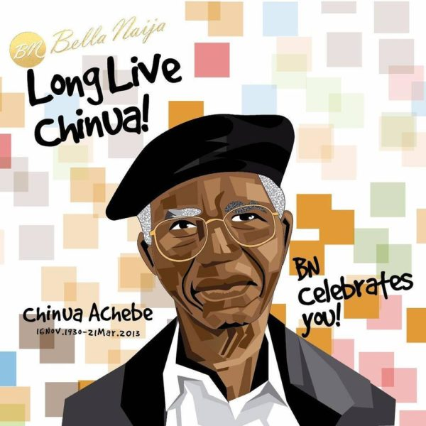 Google Celebrates Chinua Achebe's Legacy with Doodle