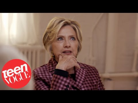 Hillary Clinton talks Not Running for Office Again on Teen Vogue - BellaNaija