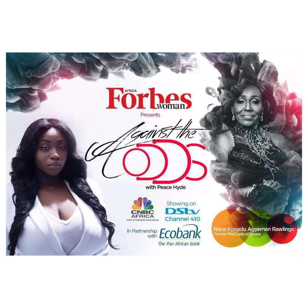 """""""Women are Vital to the development of a country"""" - Nana Konadu Agyeman Rawlings on Against The Odds with Peace Hyde   WATCH"""