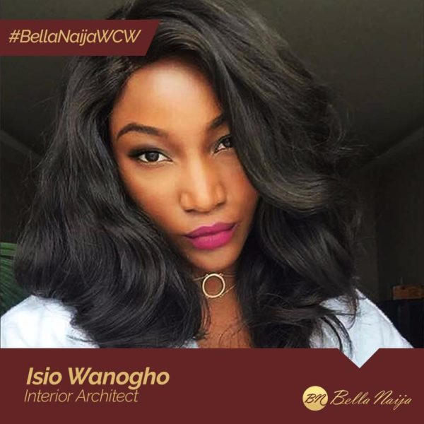 She wears many hats ??! Interior Architect Isio Wanogho is our #BellaNaijaWCW this Week
