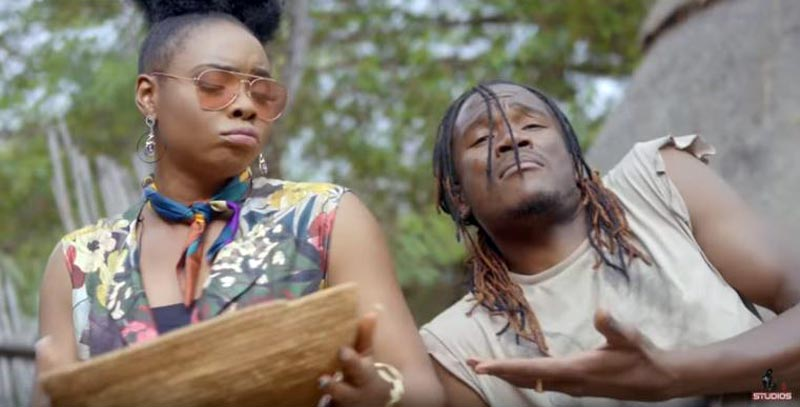 "Jay Prayzah & Yemi Alade make magic on Music Video for ""Nziyo Yerudo"" 