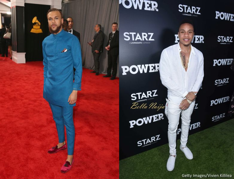 Rotimi and Jidenna are Hilarious as they Launch Feud - BellaNaija