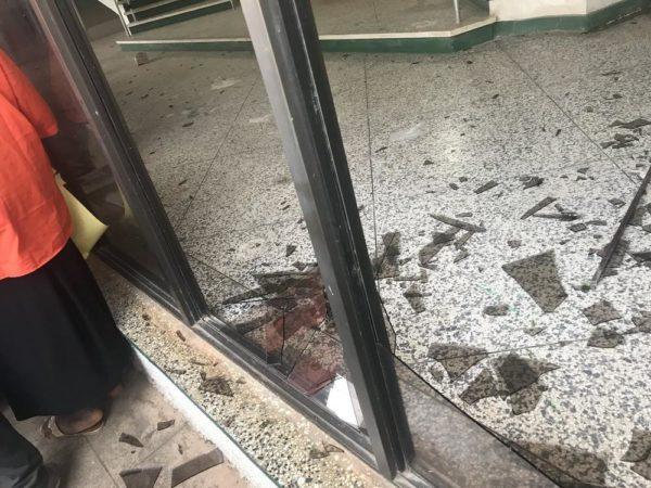 Kaduna Teachers vandalize Government Properties during Protest - BellaNaija