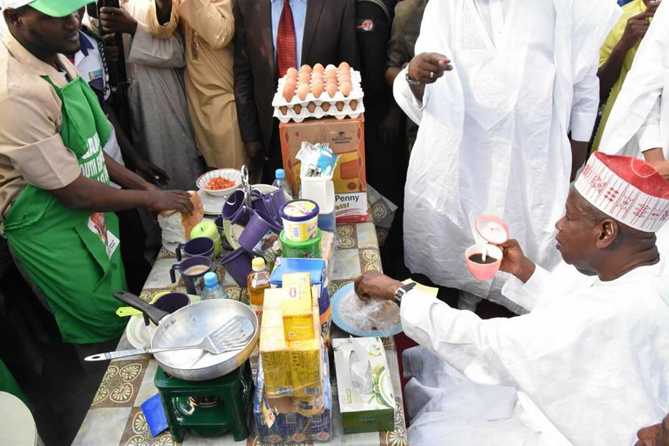 Kano State Governor spends N208m to empower Tea Sellers - BellaNaija