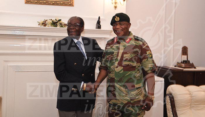 Robert Mugabe seen for the First Time since House Arrest