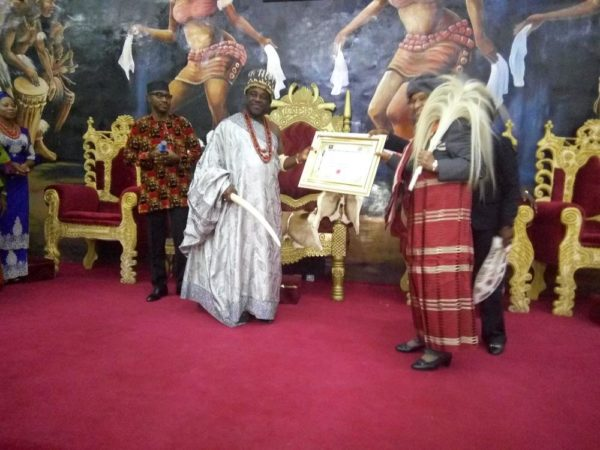 Liberian President Ellen Johnson Sirleaf confered with Chieftancy Title in Imo State - BellaNaija
