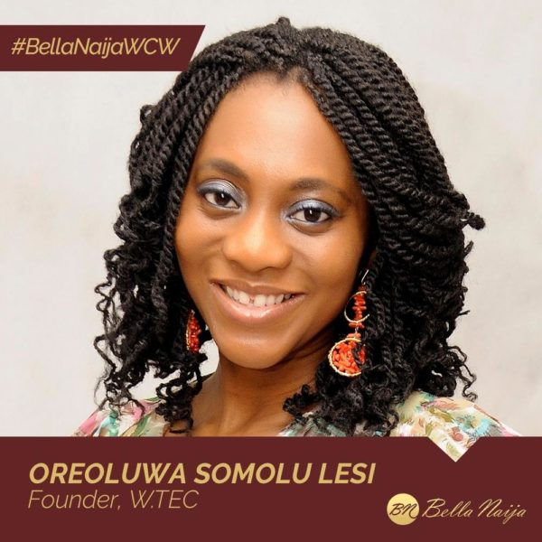 How Oreoluwa Somolu Lesi of W.TEC is Empowering Women & Girls with Tech | #BellaNaijaWCW