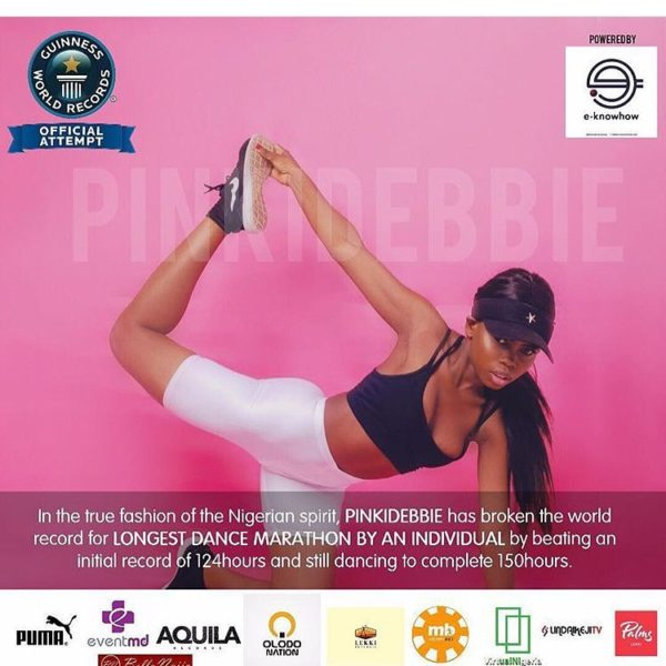 Our Girl Made It! All You Need to Know about Pinki Debbie breaking the World Record - BellaNaija