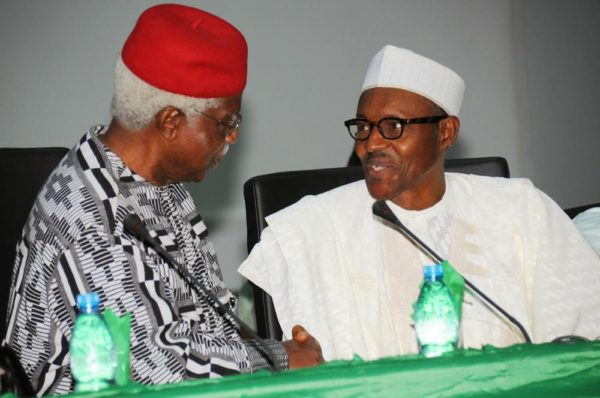 President Buhari approves Former Vice President Ekwueme's immediate treatment Abroad - BellaNaija