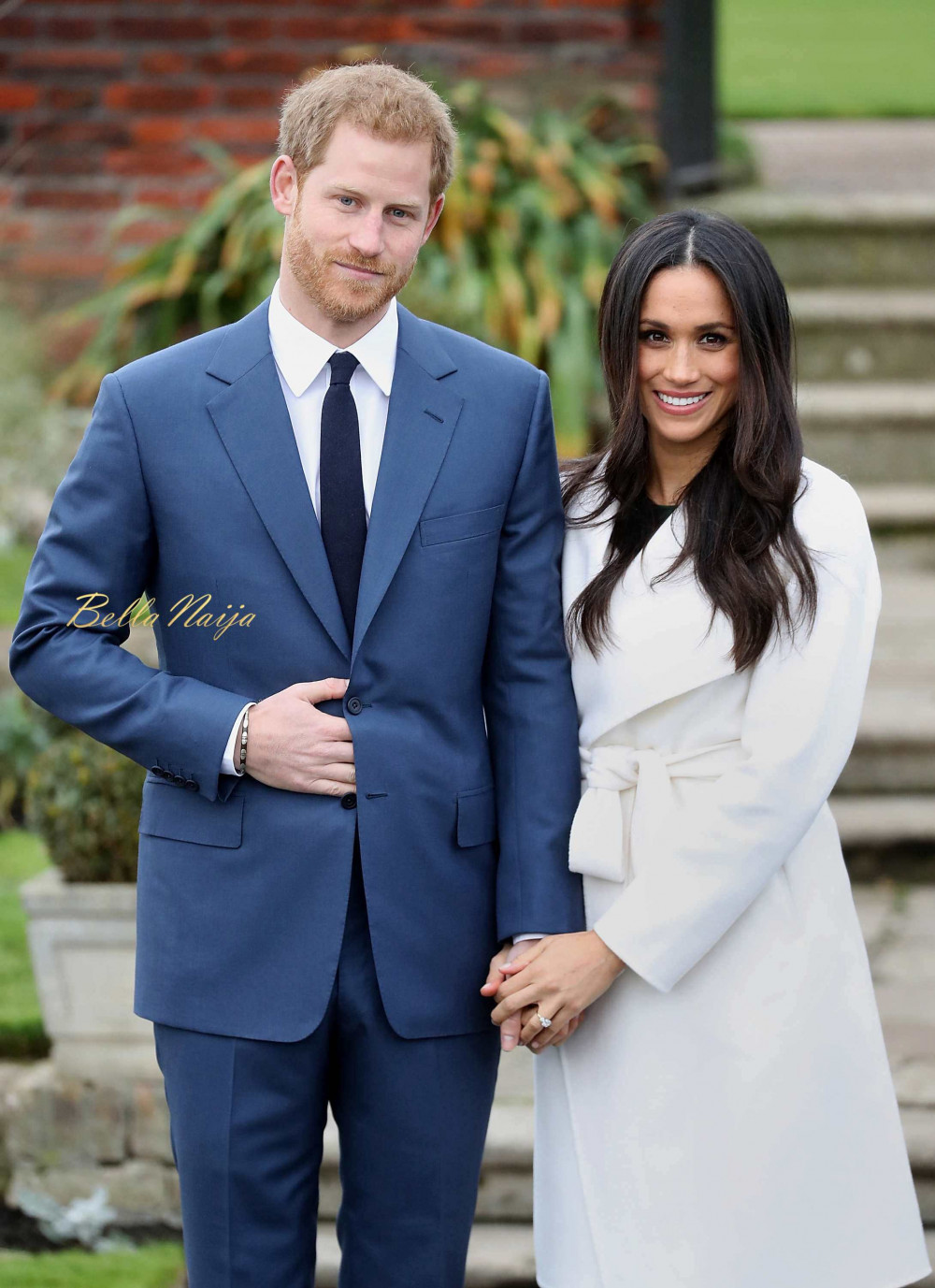 meghan markle prince harry 39 s first official appearance as engaged couple bellanaija. Black Bedroom Furniture Sets. Home Design Ideas