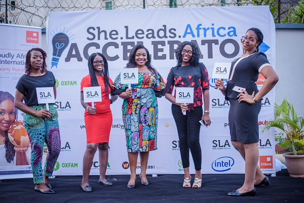 She Leads Africa demo day