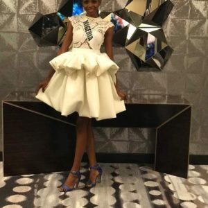 #MissUniverse2017: Welcome Dinner & Meeting the Current Miss Universe… Here's what Nigeria's Rep Stephanie Agbasi has been up to!