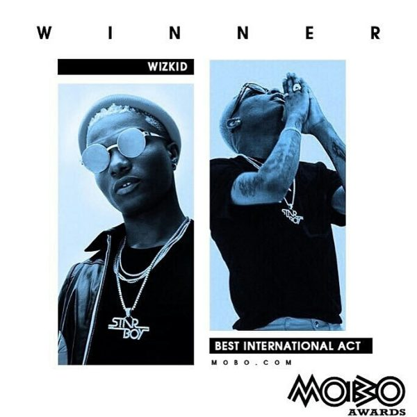 "Goodluck Jonathan, Ben Murray Bruce hail Wizkid on #MOBOAwards ""Best International Act"" Win"