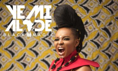 """Yemi Alade looks fierce of the Cover of Forthcoming Album """"Black Magic"""" 