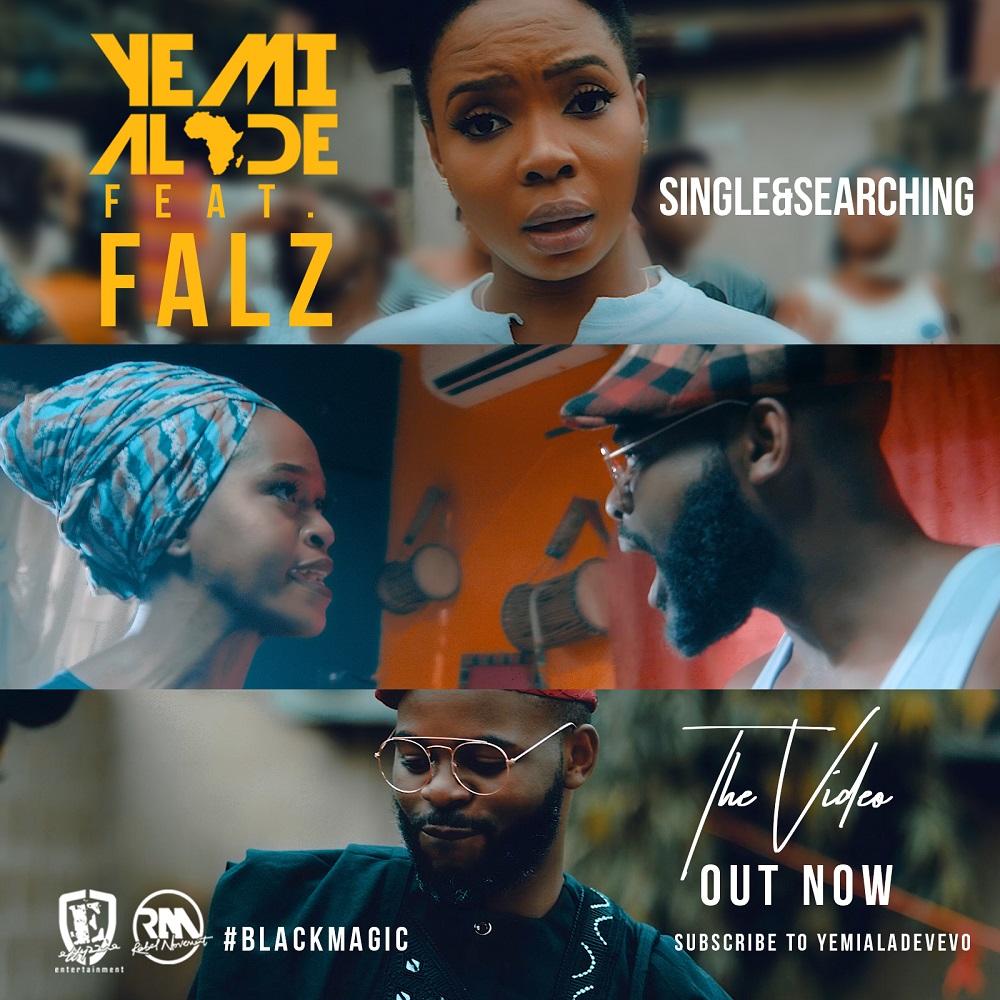 New Video: Yemi Alade feat. Falz - Single & Searching