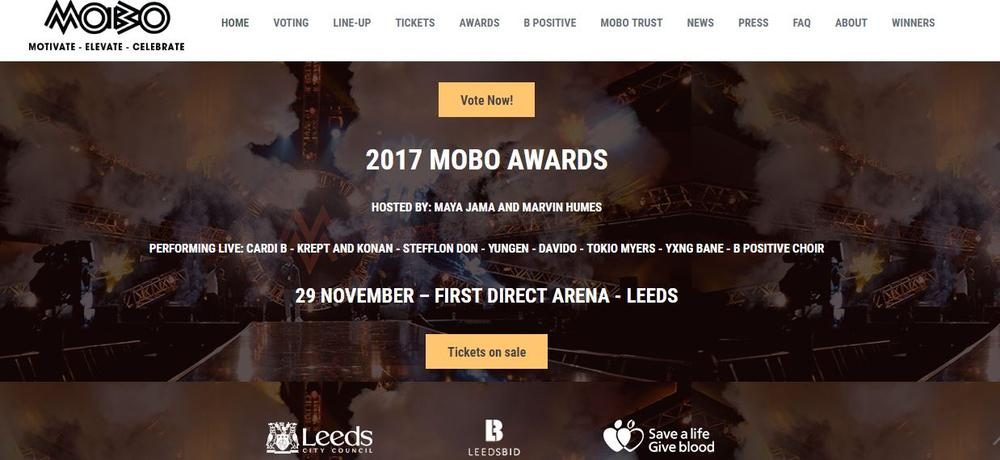 Davido to join Cardi B, Krept and Konan, Yxng Bane to perform at the MOBO Awards 2017
