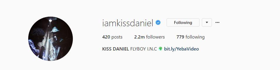 Kiss Daniel reportedly exits G-Worldwide Entertainment
