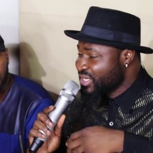 "VJ Adams, Olisa Adibua attend Listening Session for Harrysong's New Album ""Kingmaker"" 