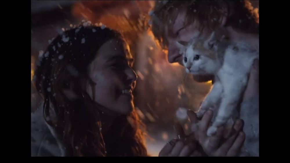 "Ed Sheeran is giving us Early Christmas Vibes with New Music Video for ""Perfect"" 