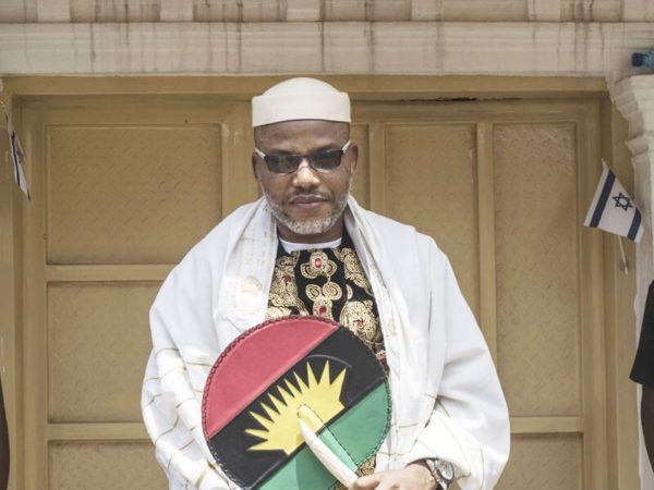 Nnamdi Kanu not working with any politician - IPOB | BellaNaija