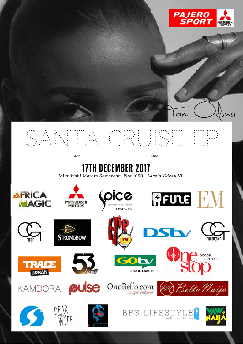 "Tomi Odunsi's debut EP ""Santa Cruise"" is coming just in time for Christmas & we have the Scoop!"