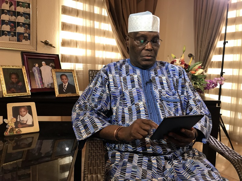 I'll do only one term if elected in 2019 - Atiku says, shares Plans for Nigeria